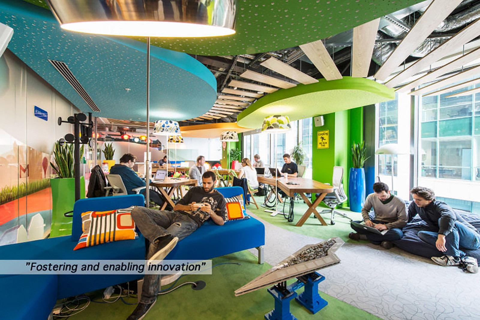 Oficina Google Dublin – Fotografo Peter Wurmli