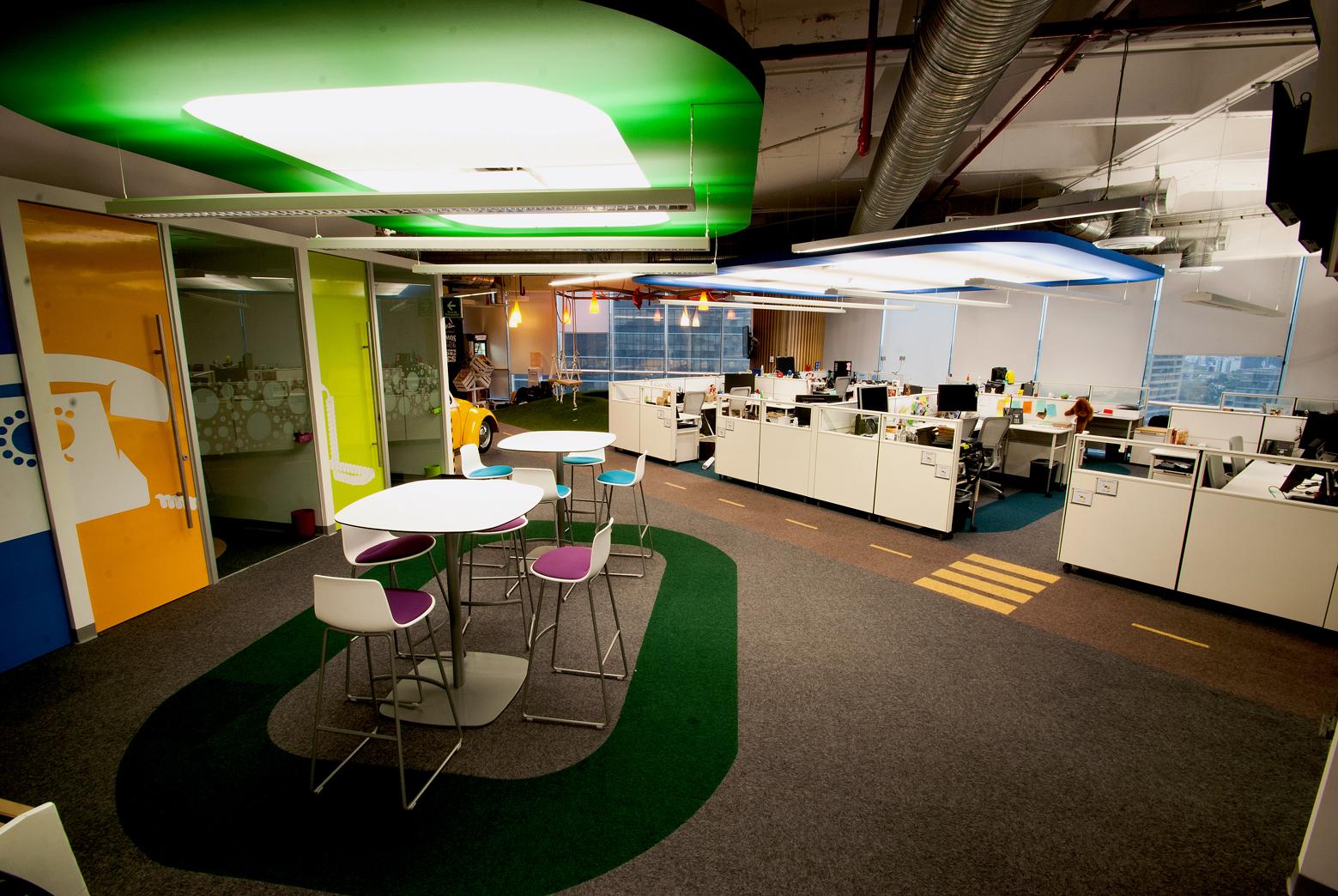 Oficina Google Mexico – Fotografía Eric Velazquez Torres